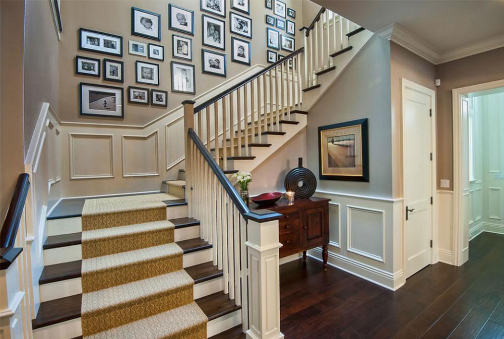 Bild-14-8 Idéer för dekoration av trappväggar