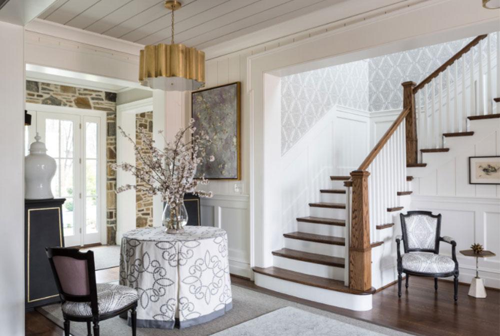 Bild-10-8 Idéer för dekoration av trappväggar