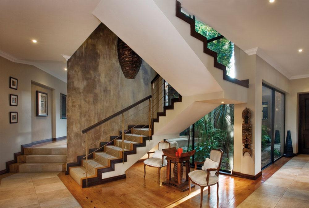 Bild-5-8 Idéer för dekoration av trappväggar