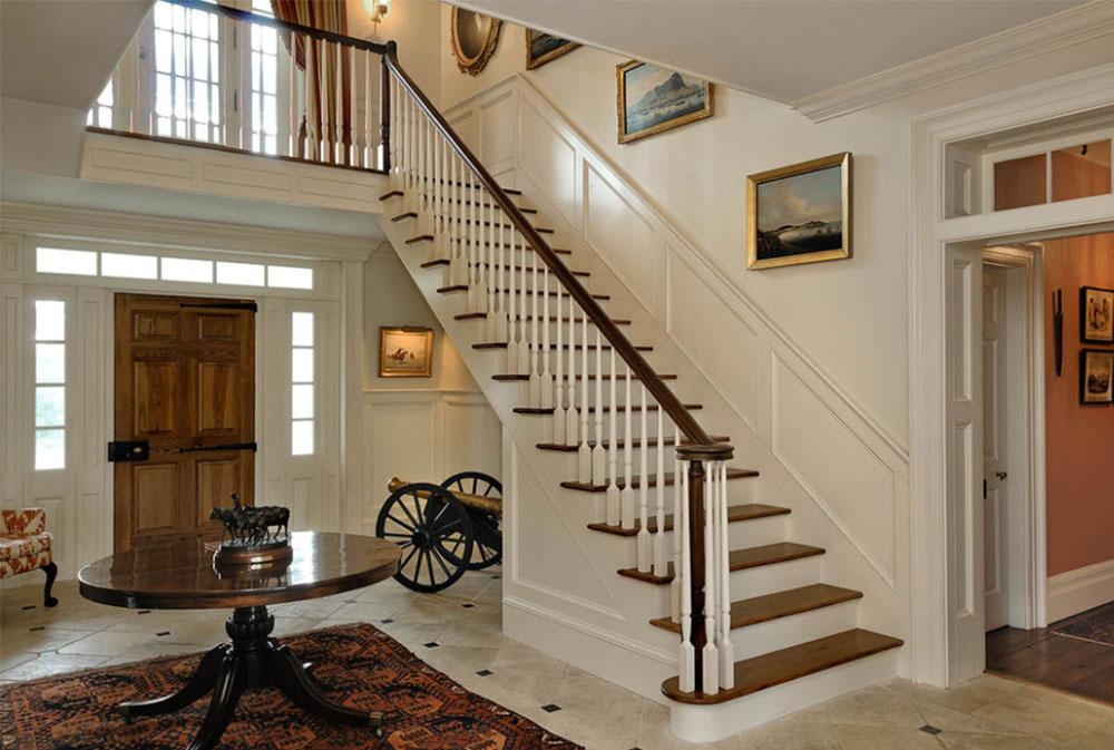 Bild-13-8 Idéer för dekoration av trappväggar