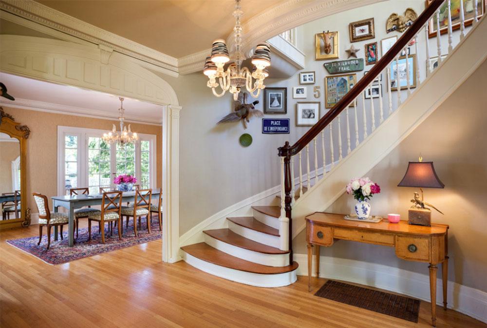 Bild-12-9 Dekorationsidéer för trappväggar