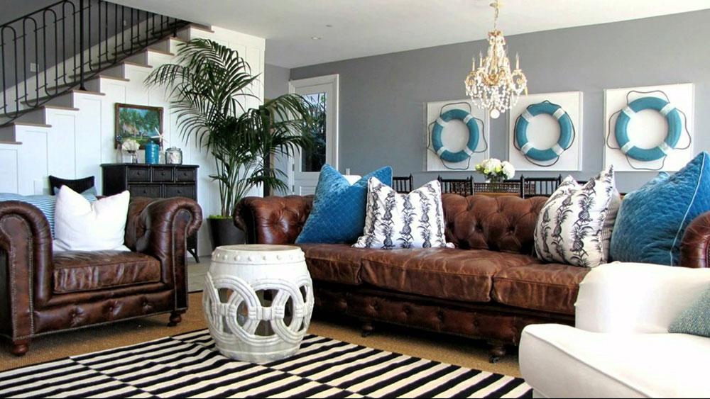 Nautisk-interiör-design-stil-och-dekoration-idéer-5 Nautisk interiör-design stil och dekorationsidéer