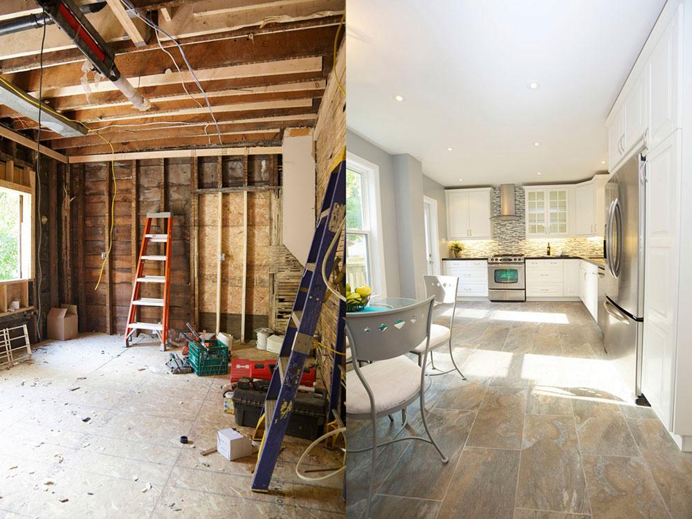Kitchen-Remodel-Before-and-After-553793893-56a4a0fd3df78cf77283525f 5 regler som du måste följa när du renoverar