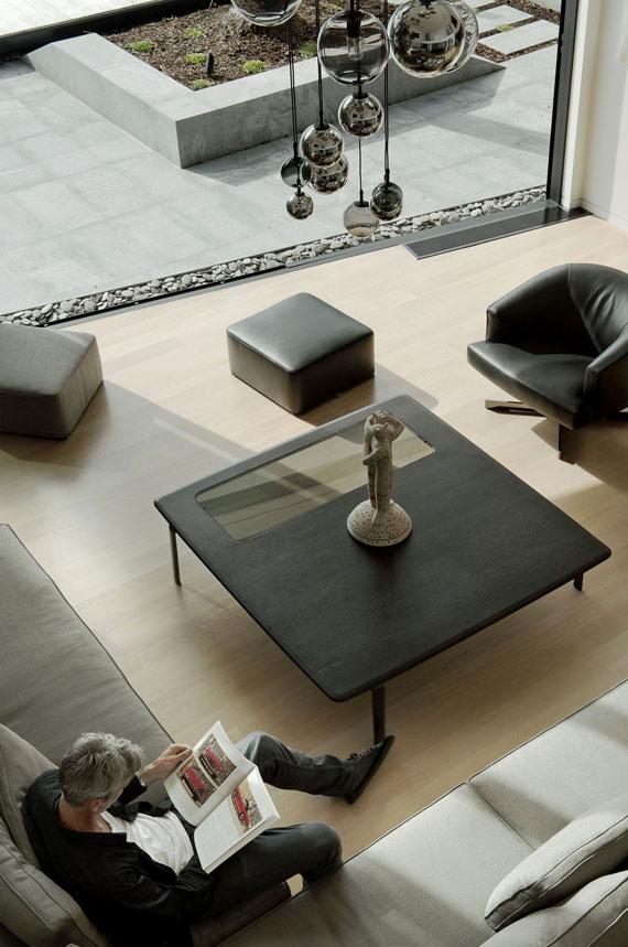 cls12 Modernt svartvitt drömhus: Lucerne House av Daniel Marshall Architects