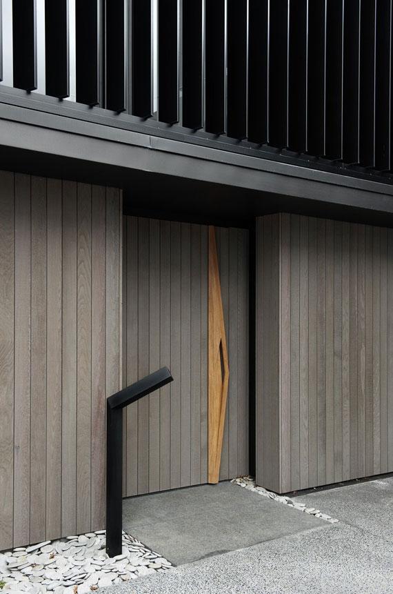 cls8 Modernt svartvitt drömhus: Lucerne House av Daniel Marshall Architects