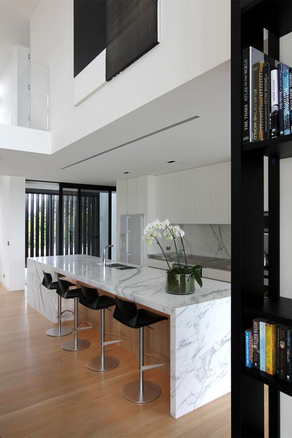 cls14 Modernt svartvitt drömhus: Lucerne House av Daniel Marshall Architects