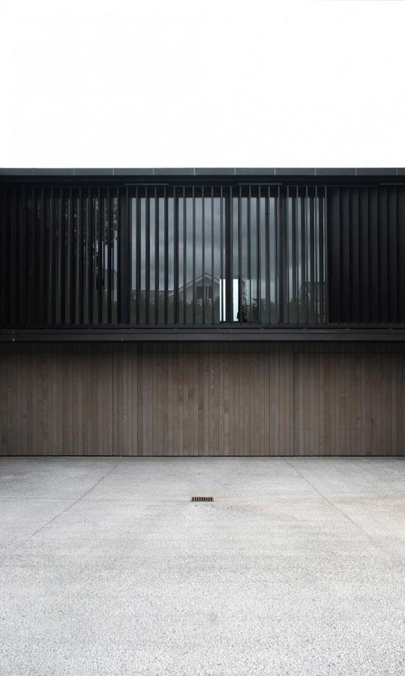 cls7 Modernt svartvitt drömhus: Lucerne House av Daniel Marshall Architects