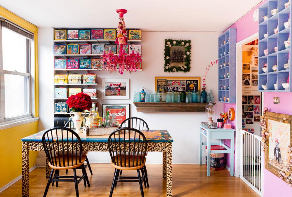 eklektisk matsal av Rikki-Snyder förvaringsidéer för leksaker för att hålla rummet snyggt och organiserat