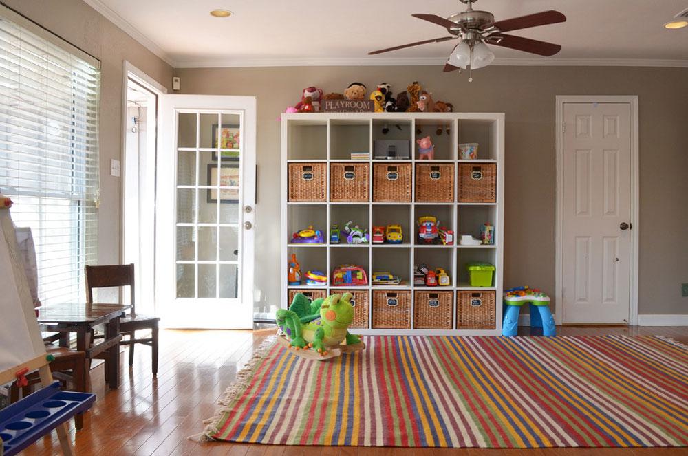Dallas-TX-by-Sarah-Greenman leksaksförvaringsidéer för att hålla utrymmet snyggt och organiserat