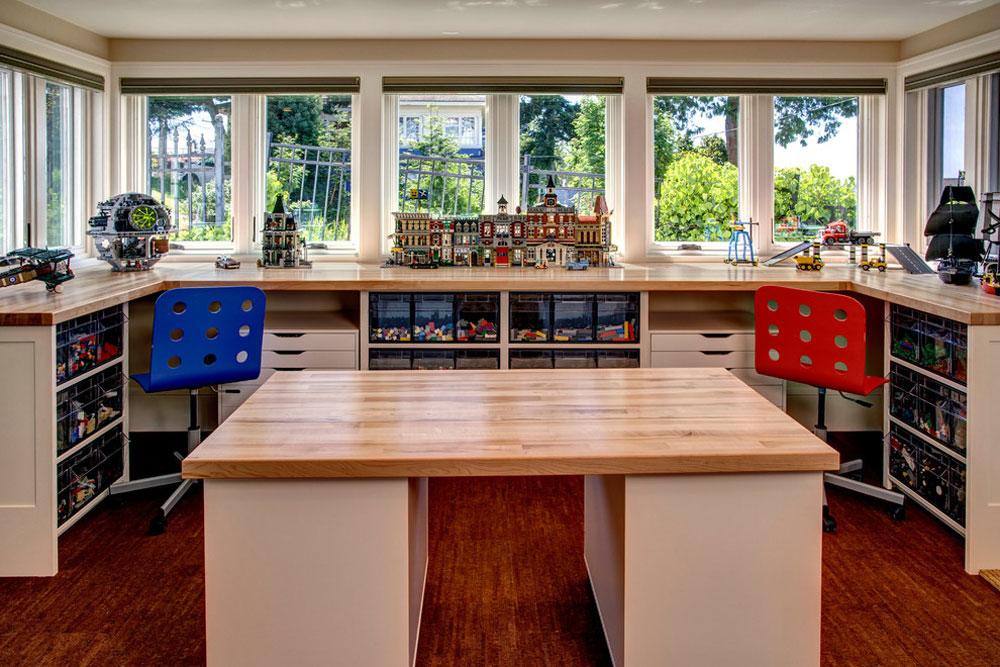 Ljusa idéer för förvaring av pergament för källare för styrelse för att hålla utrymmet snyggt och organiserat