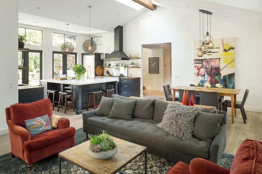 Omdesignad Creekside Retreat är nu ett bra hem 2 Det omdesignade Creekside Retreat är nu ett bra hem
