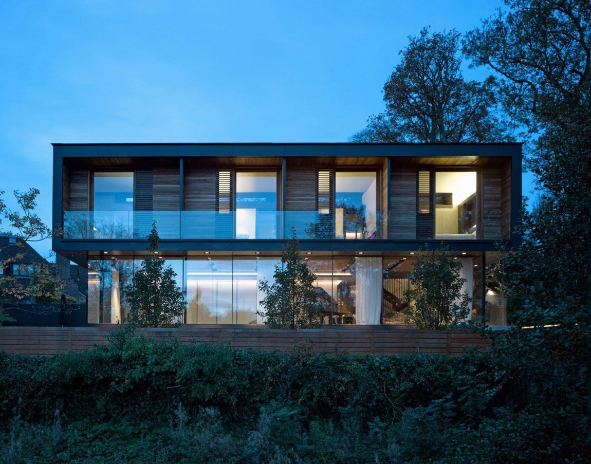 English House with Modernist Architecture 12 English House with Modernist Architecture Designad av Stanton Williams