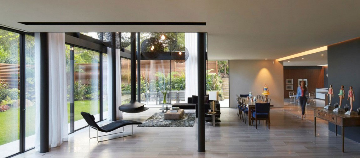 English House with Modernist Architecture 2 English House with Modernist Architecture Designad av Stanton Williams