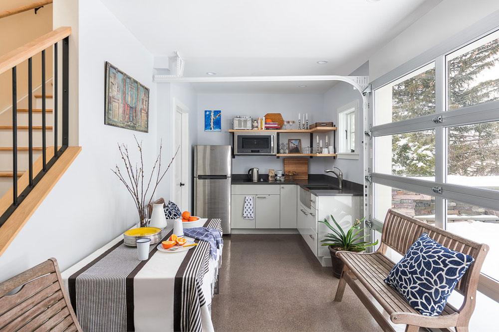 Car-Garage-by-Peregrine-Design-Build-2 Kitchen Stall Idéer för ditt lilla kök
