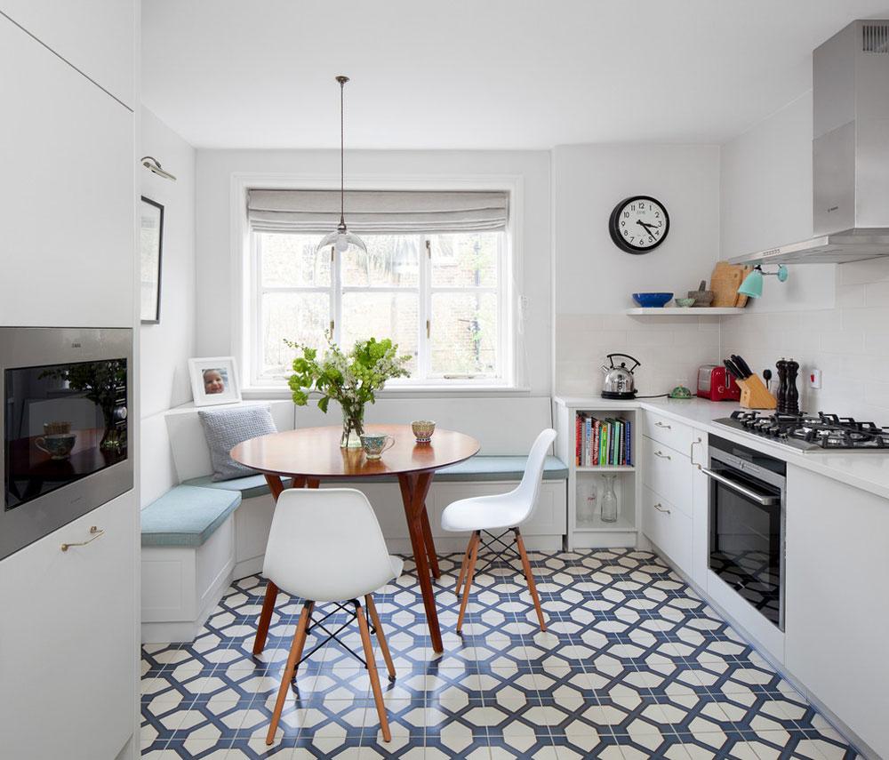 Kitchen-by-LAURA-LAKIN-DESIGN Idéer för köksbås för ditt lilla kök