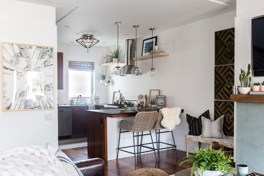 Natural-Boho-by-Kimberley-Kay-Interiors köksbodsidéer för ditt lilla kök