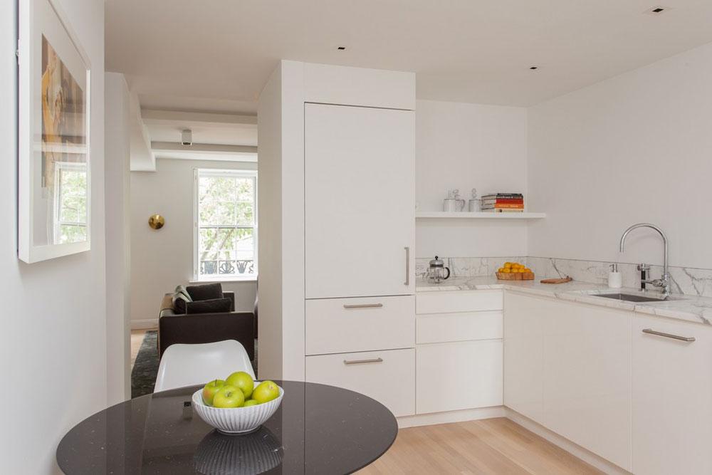 Modernt kök av Gne-Architektur Idéer för köksbås för ditt lilla kök