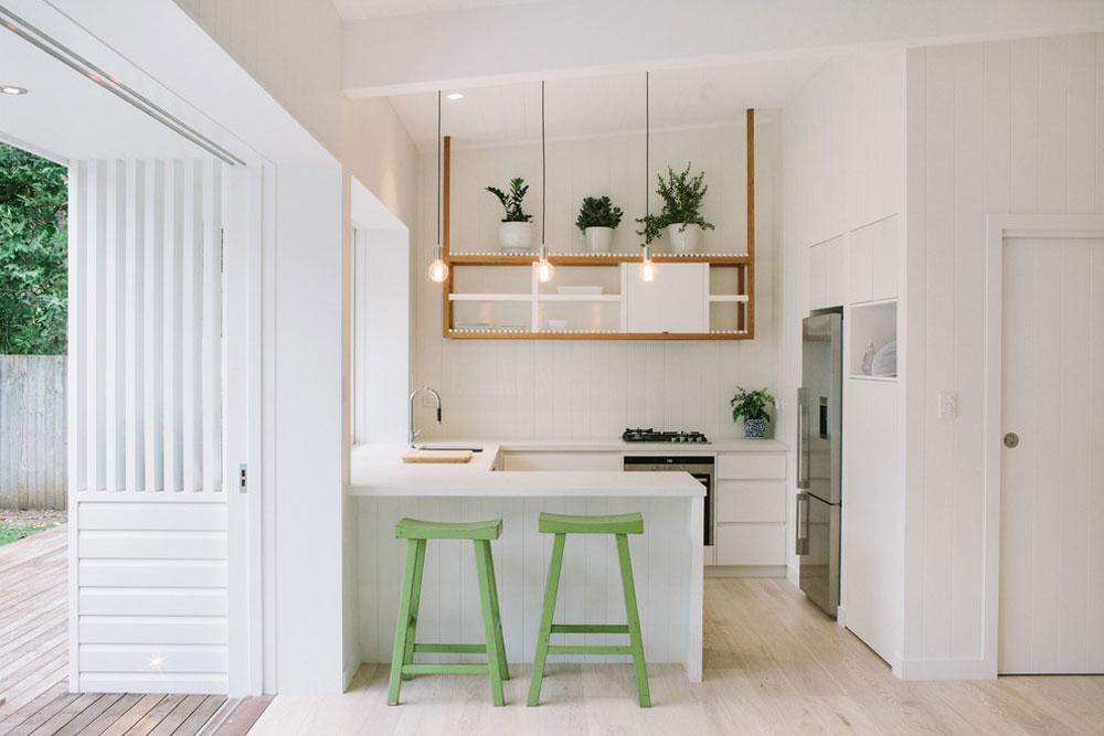 Contemporary-Kitchen-by-Davisarchitects idéer för köksbås för ditt lilla kök