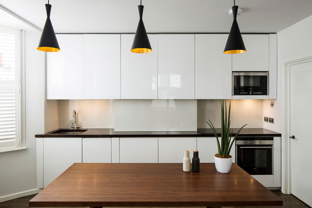 Bostadsrenovering genom romarkitektur Idéer för köksbås för ditt lilla kök