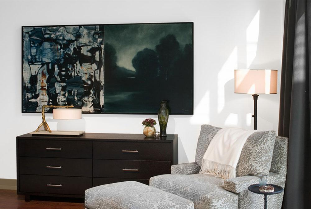 Koehler-Loft-Master-Bedroom-Sitting Area-by-Cravotta-Interiors Bedroom-Stolar: Stora, små och bekväma exempel