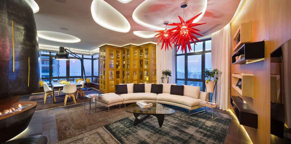 Oförglömlig lägenhet i Kiev-designad av Studio-BARABAN-5 oförglömlig lägenhet i Kiev designad av Studio BARABAN