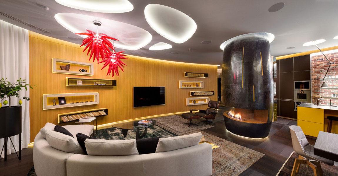 Oförglömlig lägenhet i Kiev-designad av Studio-BARABAN-4 oförglömlig lägenhet i Kiev designad av Studio BARABAN