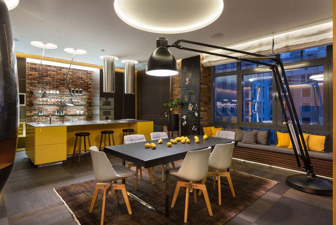 Oförglömlig lägenhet i Kiev designad av Studio BARABAN-11 Oförglömlig lägenhet i Kiev designad av Studio BARABAN