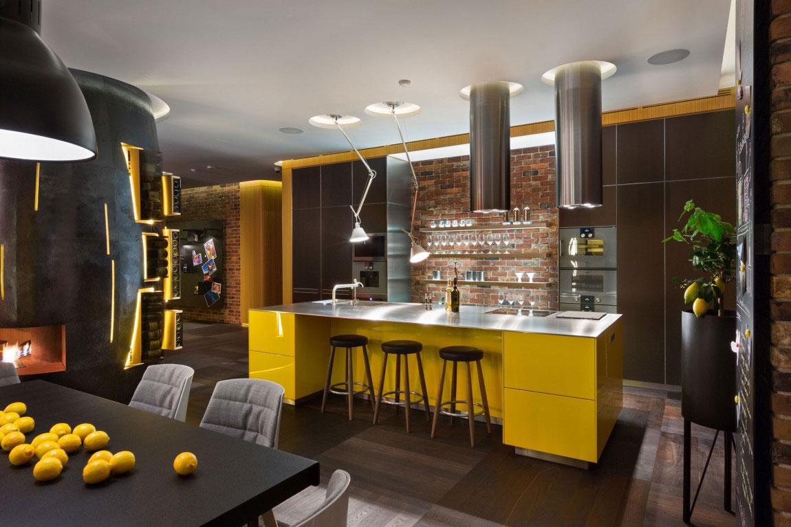 Oförglömlig lägenhet i Kiev-designad av studio-BARABAN-8 oförglömlig lägenhet i Kiev designad av studio BARABAN