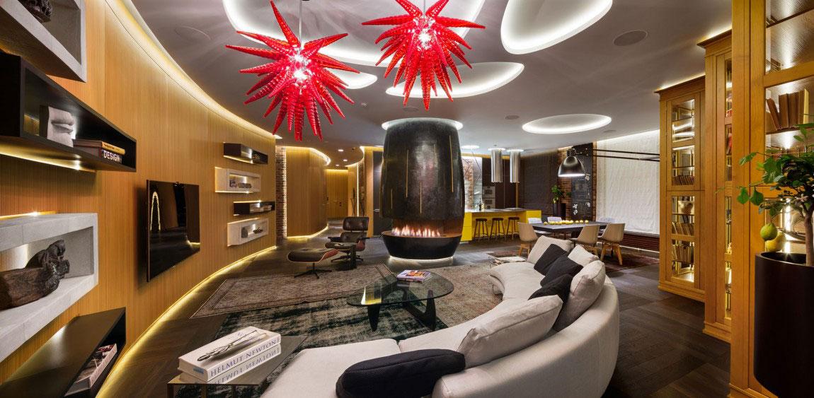 Oförglömlig lägenhet i Kiev-designad av Studio-BARABAN-2 oförglömlig lägenhet i Kiev designad av Studio BARABAN