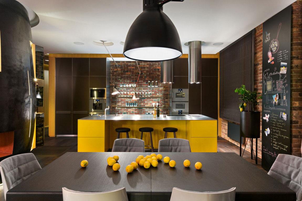 Oförglömlig lägenhet i Kiev-designad av Studio-BARABAN-7 oförglömlig lägenhet i Kiev designad av Studio BARABAN