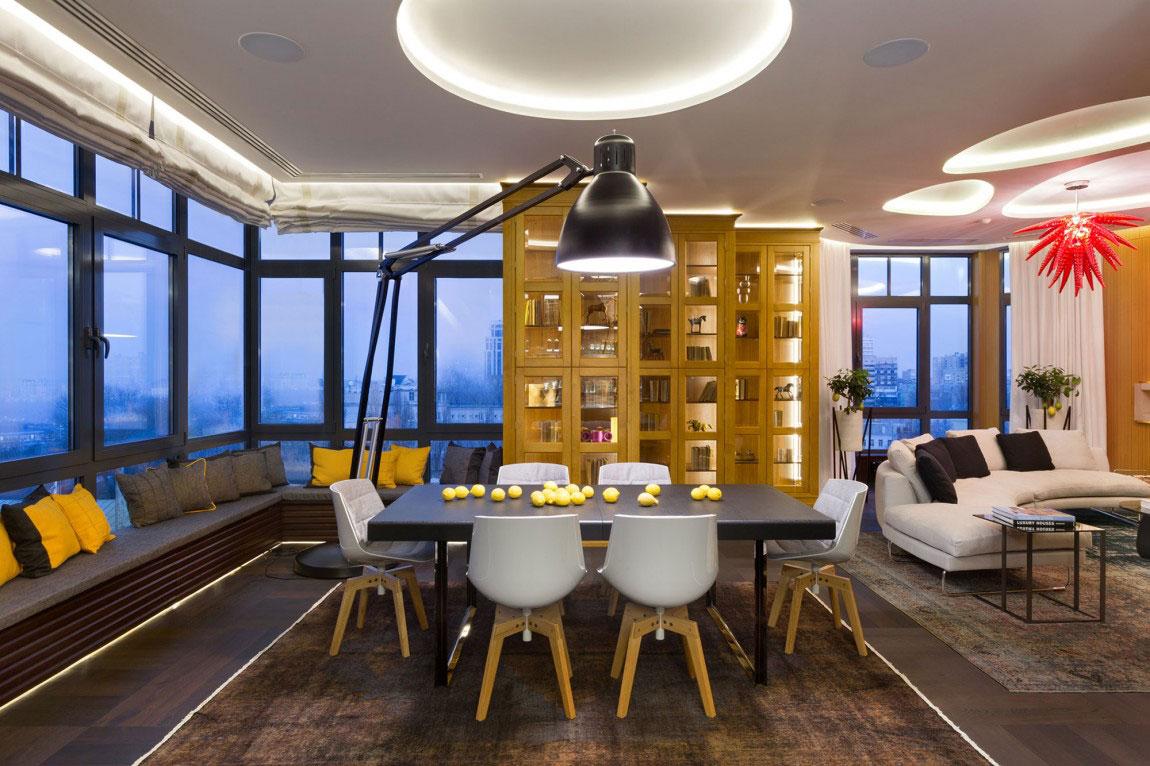 Oförglömlig lägenhet i Kiev designad av Studio BARABAN-10 Oförglömlig lägenhet i Kiev designad av Studio BARABAN