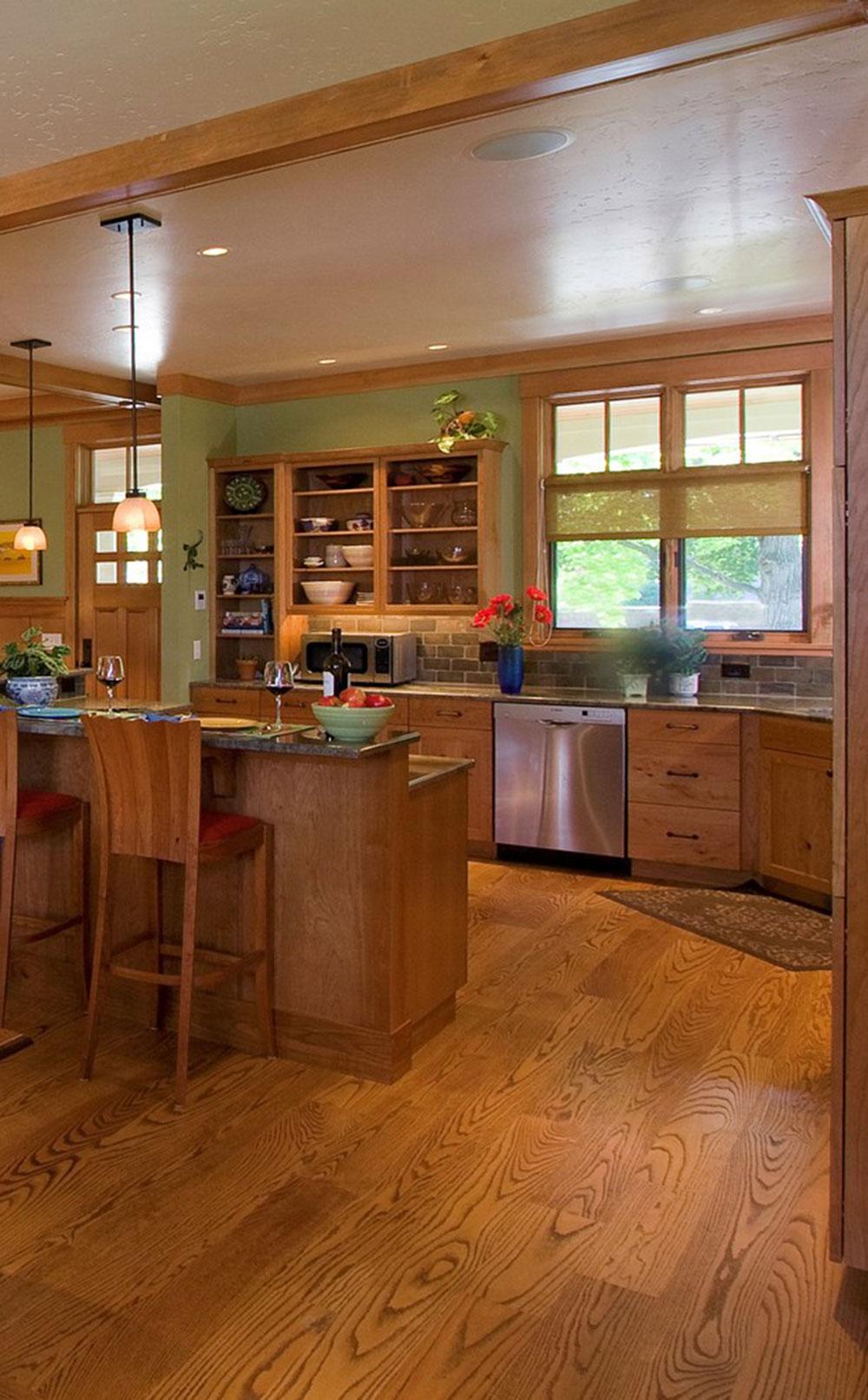 Öppna köksskåp är lättare att använda11 Öppna köksskåp är lättare att använda