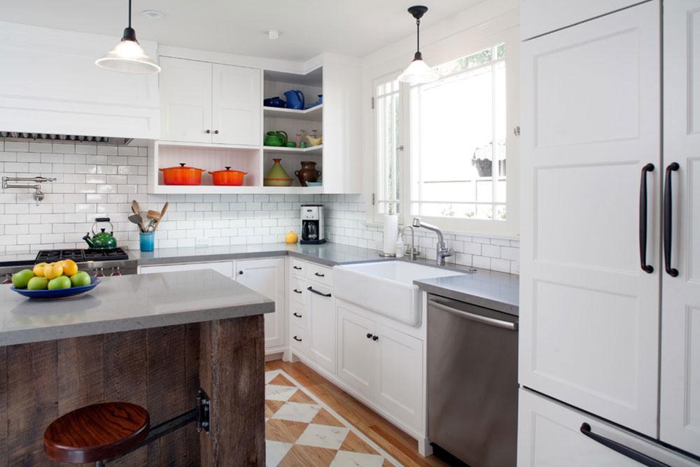 Öppna köksskåp är lättare att använda9 Öppna köksskåp är lättare att använda