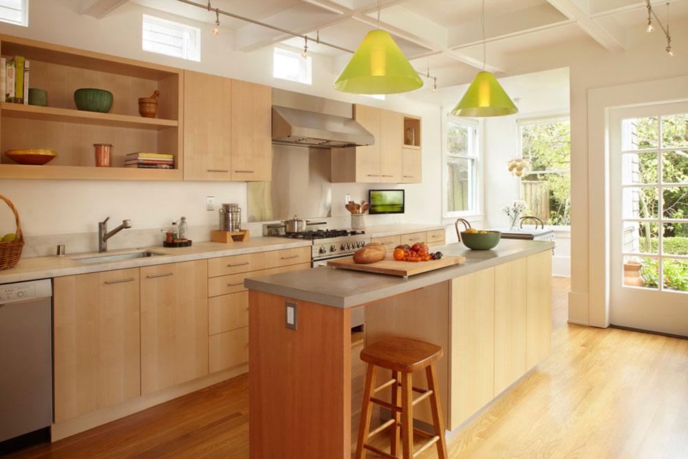 Öppna köksskåp är lättare att använda3 Öppna köksskåp är lättare att använda