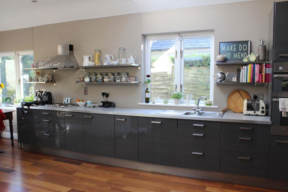 Öppna köksskåp är lättare att använda10 Öppna köksskåp är lättare att använda