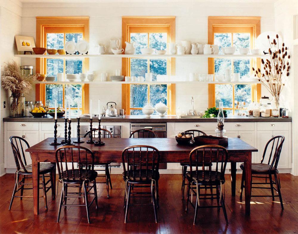 Öppna köksskåp är lättare att använda8 Öppna köksskåp är lättare att använda