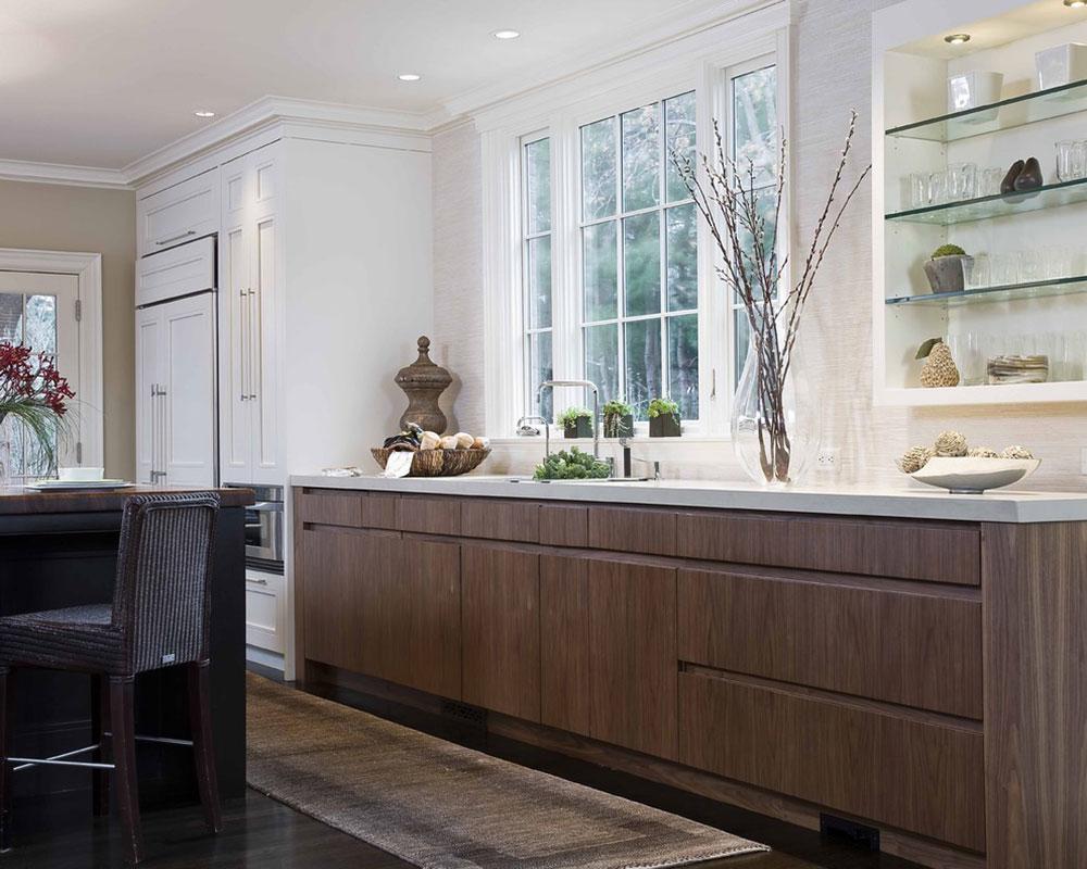 Öppna köksskåp är lättare att använda4 Öppna köksskåp är lättare att använda