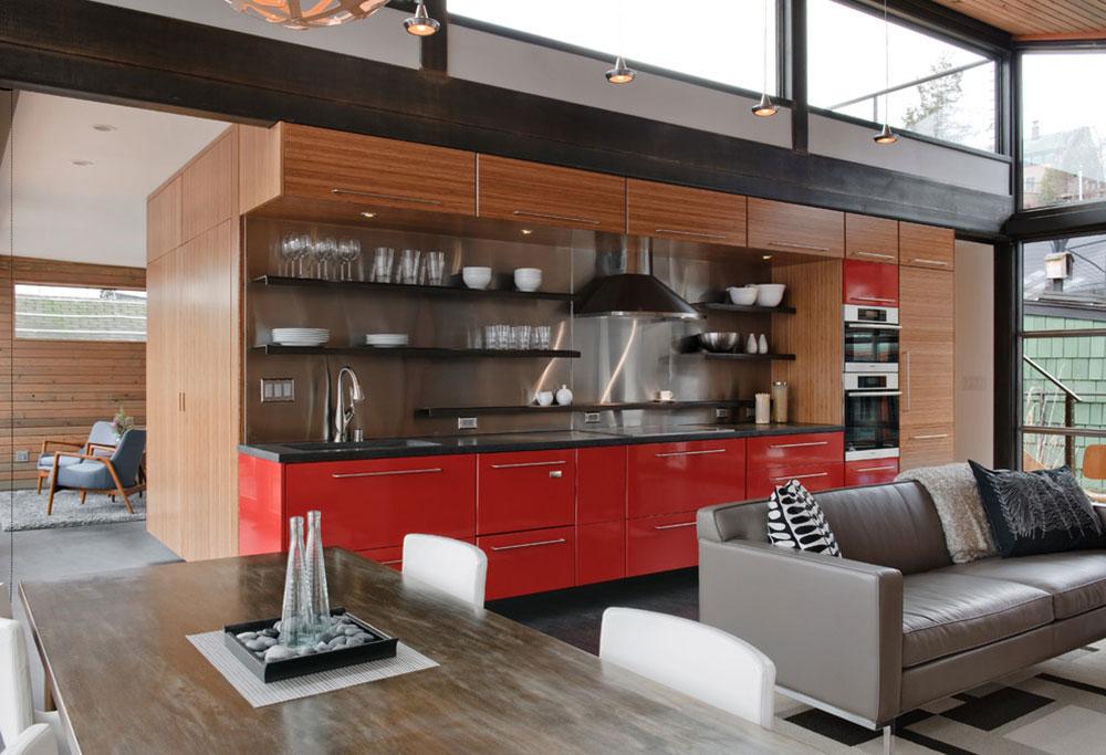 Öppna köksskåp är lättare att använda5 Öppna köksskåp är lättare att använda