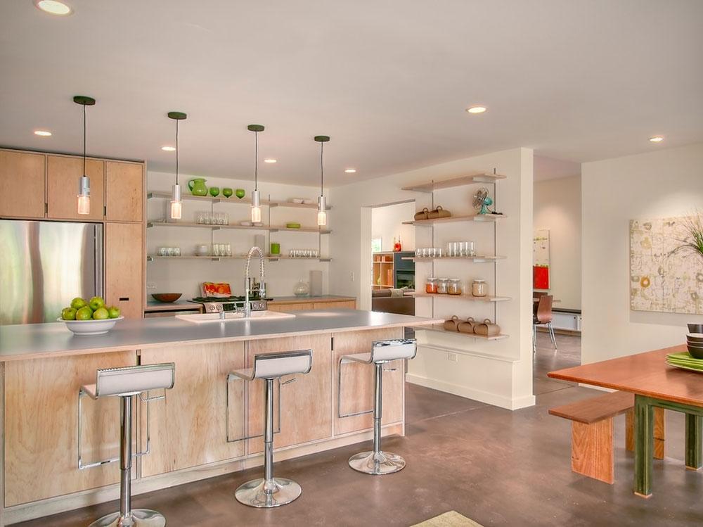 Öppna köksskåp är lättare att använda12 Öppna köksskåp är lättare att använda