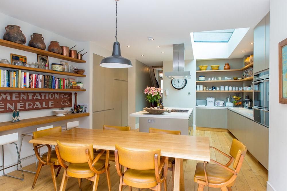 Öppna köksskåp är lättare att använda13 Öppna köksskåp är lättare att använda
