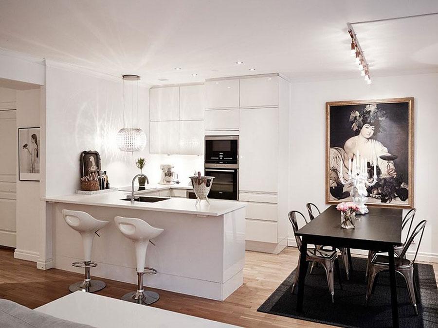 4 tidlösa och vackra vita köksdesigner