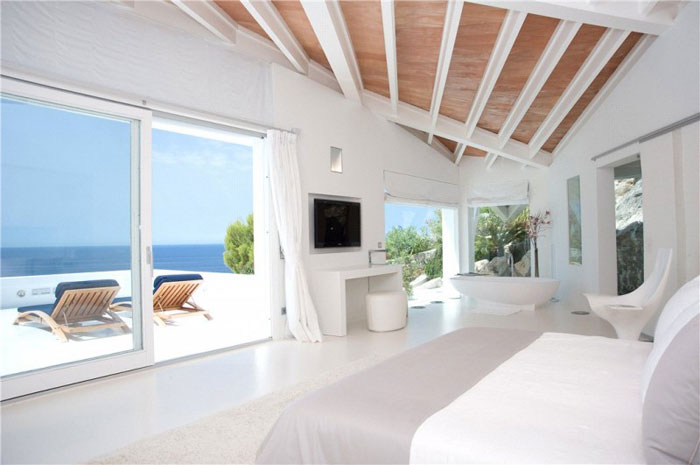 65790968396 Lyxigt hus med vacker utsikt och vita rum i Cala Marmacen