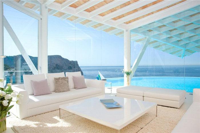65790866138 Lyxigt hus med vacker utsikt och vita rum i Cala Marmacen