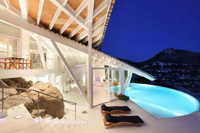 65790957028 Lyxigt hus med vacker utsikt och vita rum i Cala Marmacen