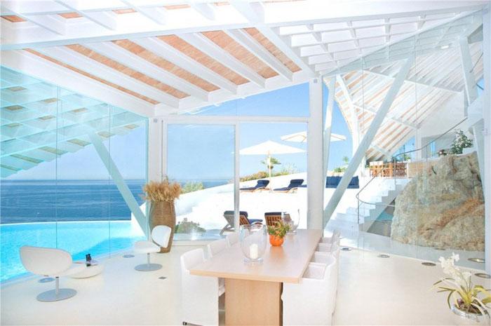 65790820254 Lyxigt hus med vacker utsikt och vita rum i Cala Marmacen