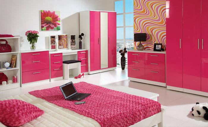 67468200534 En samling färgglada och moderna sovrumsdesigner