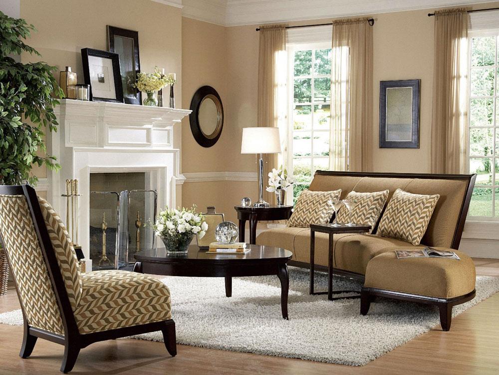 Välja de bästa neutrala färgerna för vardagsrummet 4 Välja de bästa neutrala färgerna för vardagsrummet