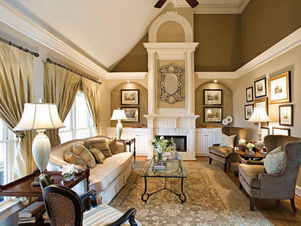Välja de bästa neutrala för vardagsrummet 12 Hur man väljer de bästa neutrala färgerna för vardagsrummet