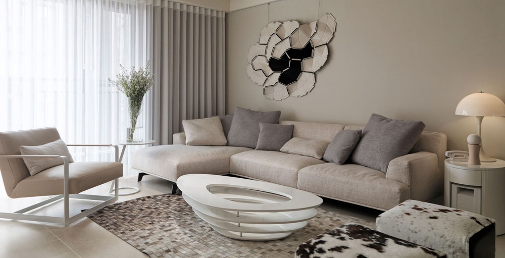 Välja de bästa neutrala färgerna för vardagsrummet 7 Hur man väljer de bästa neutrala färgerna för vardagsrummet
