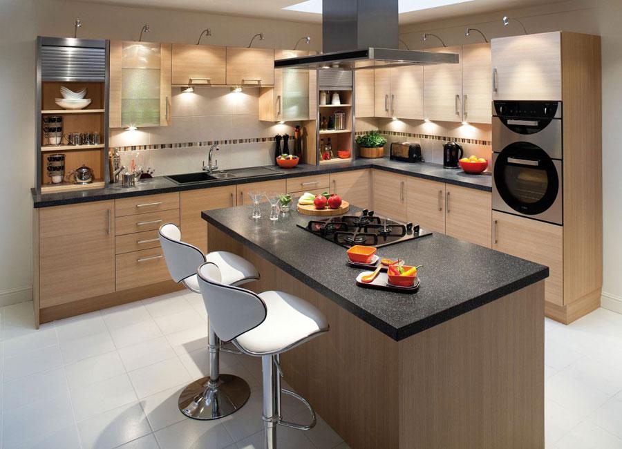 10 moderna kökö-idéer för kök med en fantastisk design